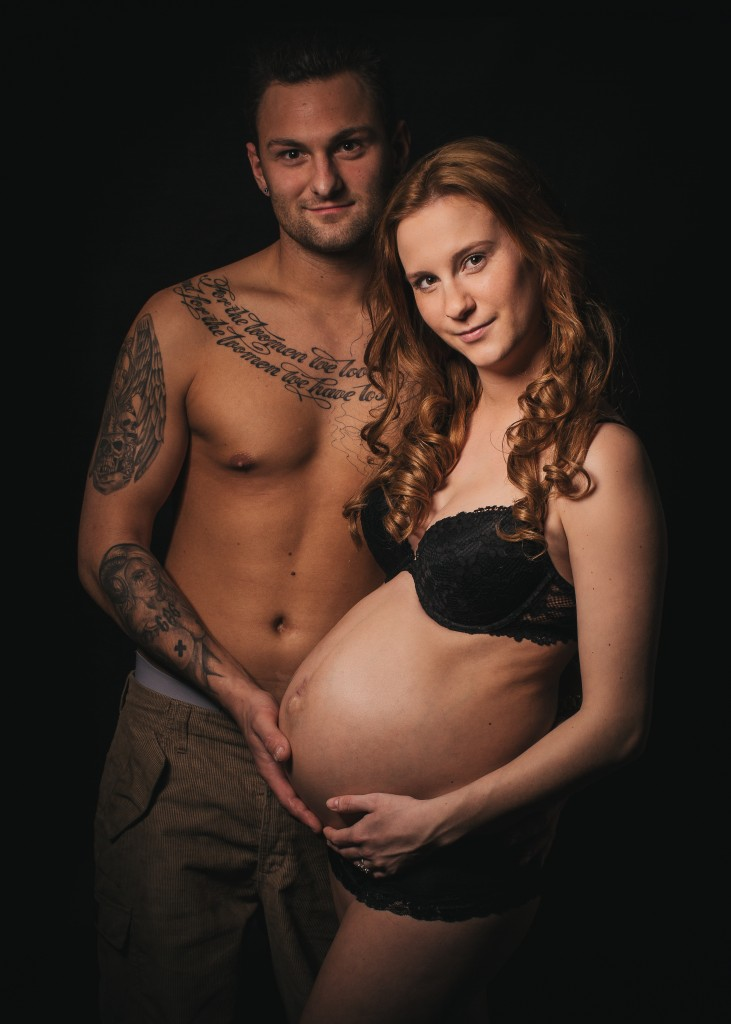 Gravid portræt