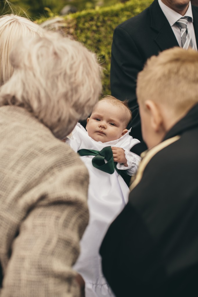 påklædning til dåb